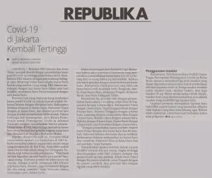 Jakarta S New Covid 19 Cases Back On Top Printsatumedia