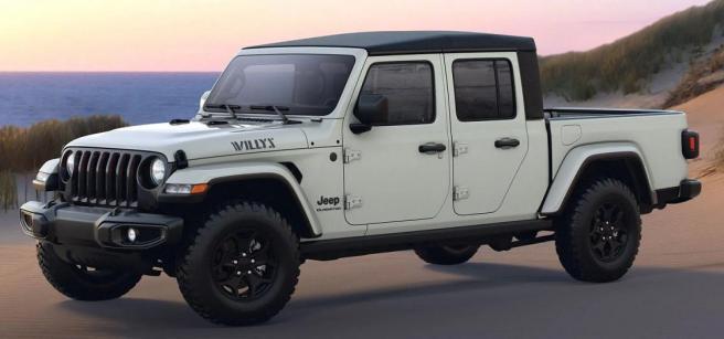 Jeep Gladiator Trim Untuk Tahun 2021 Printsatumedia